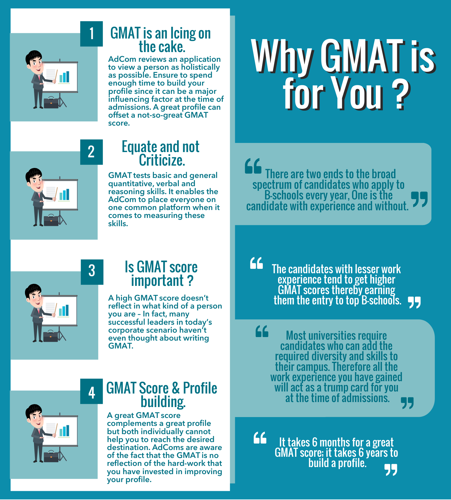 4 Reasons Why GMAT is for You