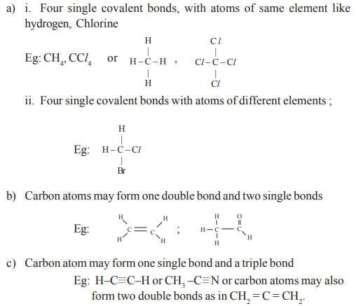AP Class 10 Physical Science Chapter 14 Carbon and its Compounds