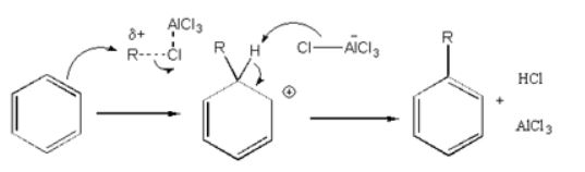 Friedel-Crafts Alkylation Reaction Mechanism