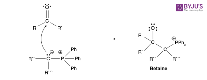 Wittig Reaction Mechanism Step 1