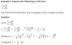 complex numbers problem