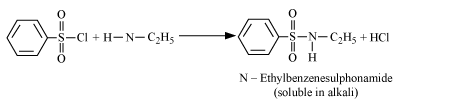 Hinsberg Reaction for Primary Amines