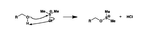 Swern Oxidation Mechanism Step 2