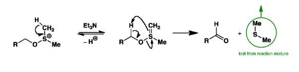 Swern Oxidation Mechanism Step 3