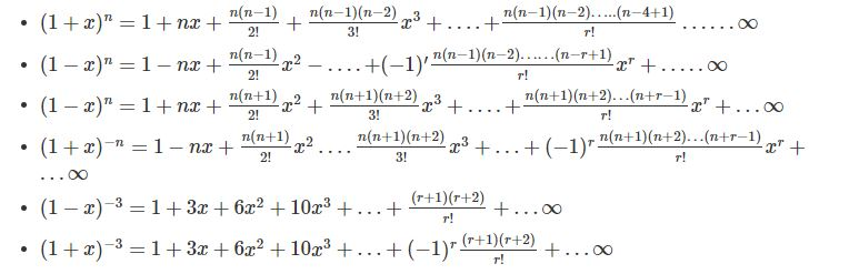 Binomial Theorem Properties Terms In Binomial Expansion Examples