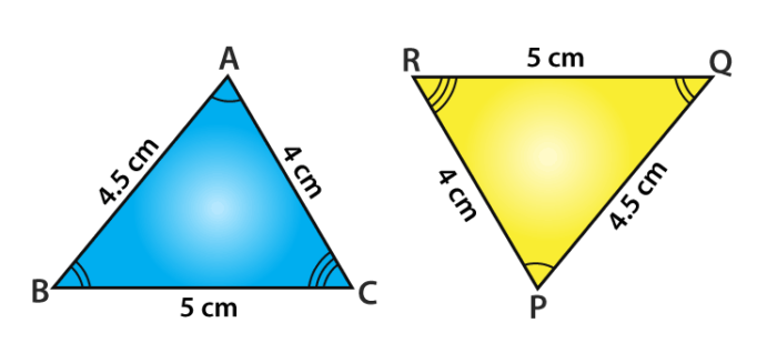 Congruence Of Triangles Class 9 Class 9 Congruence Rules