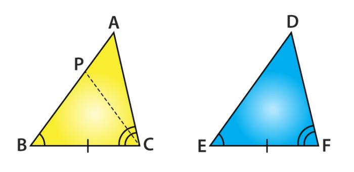 ASA Congruence Rule proof