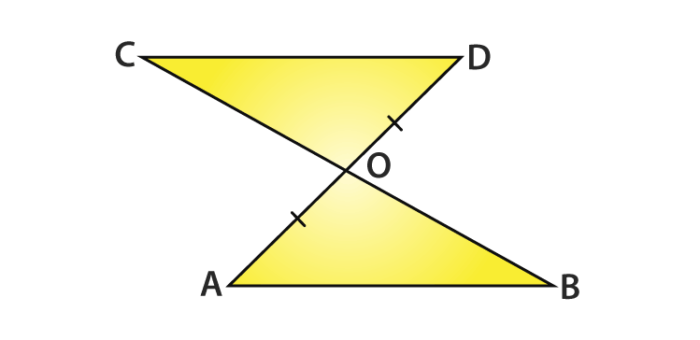 Congruence of Triangles class 9 example