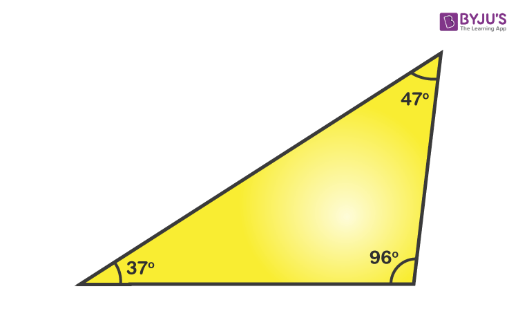 Obtuse Angled Triangle Definition, Formula and Properties
