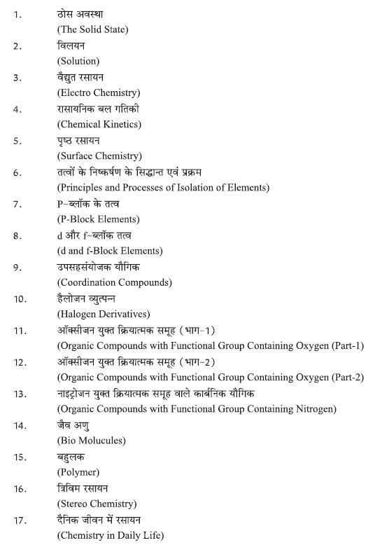 Rajasthan-Board-Class-12-Chemistry-Syllabus