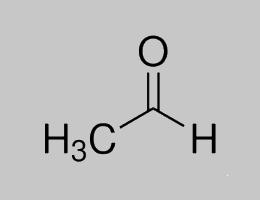 Acetaldehyde Structural Formula
