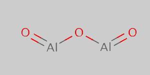 Aluminium Oxide Structural Formula