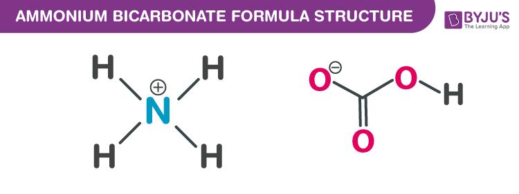 Ammonium bicarbonate Formula