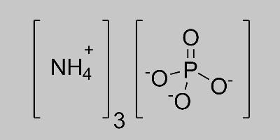 Ammonium Phosphate Structural Formula