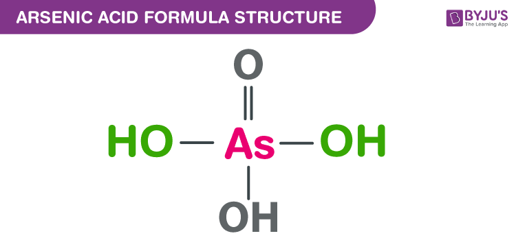 Arsenic acid Formula