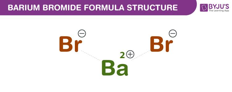 Barium bromide Formula