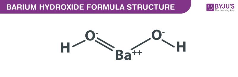 Barium Hydroxide Formula