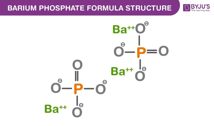 Barium phosphate Formula