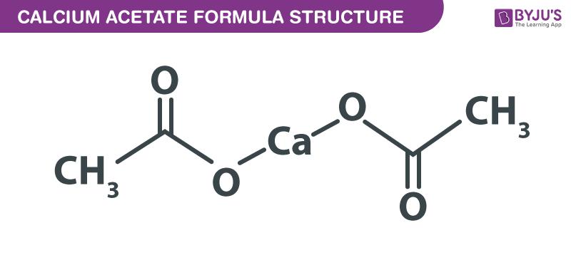 Calcium Acetate Formula