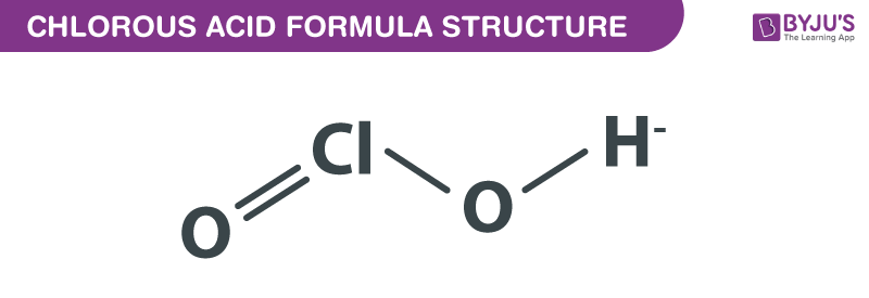 Chlorous Acid Formula