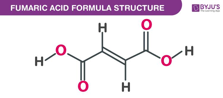 Fumaric acid Formula