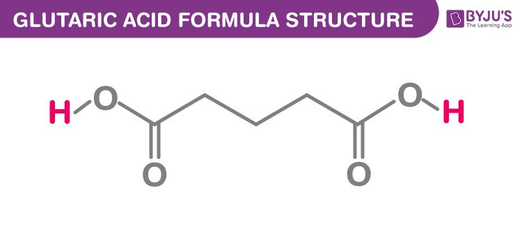 Glutaric acid Formula