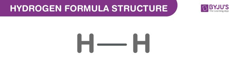 Hydrogen Formula