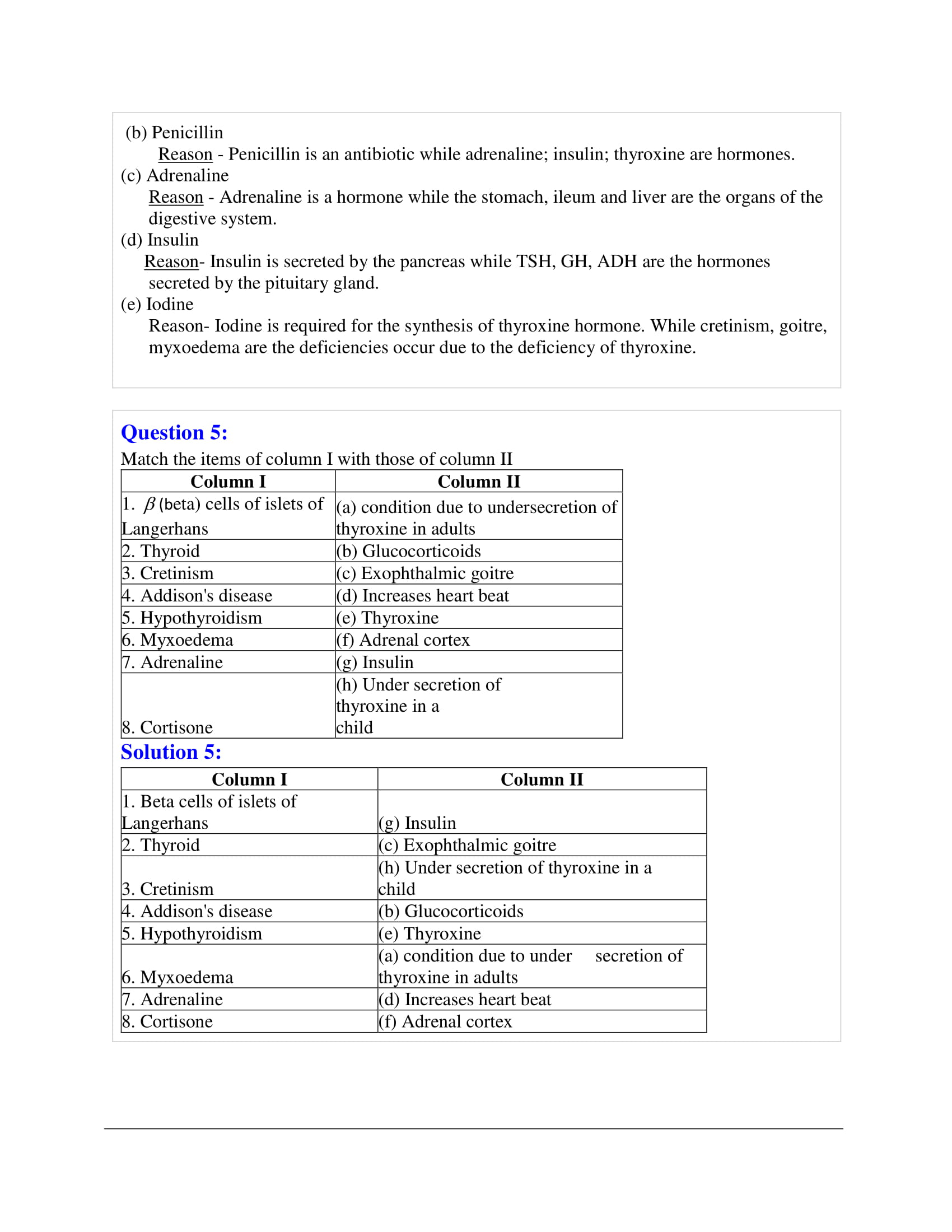 icse-selina-biology-solutions-class-10-chapter-9-endocrine-glands-the-producers-of-chemical-messengers-03