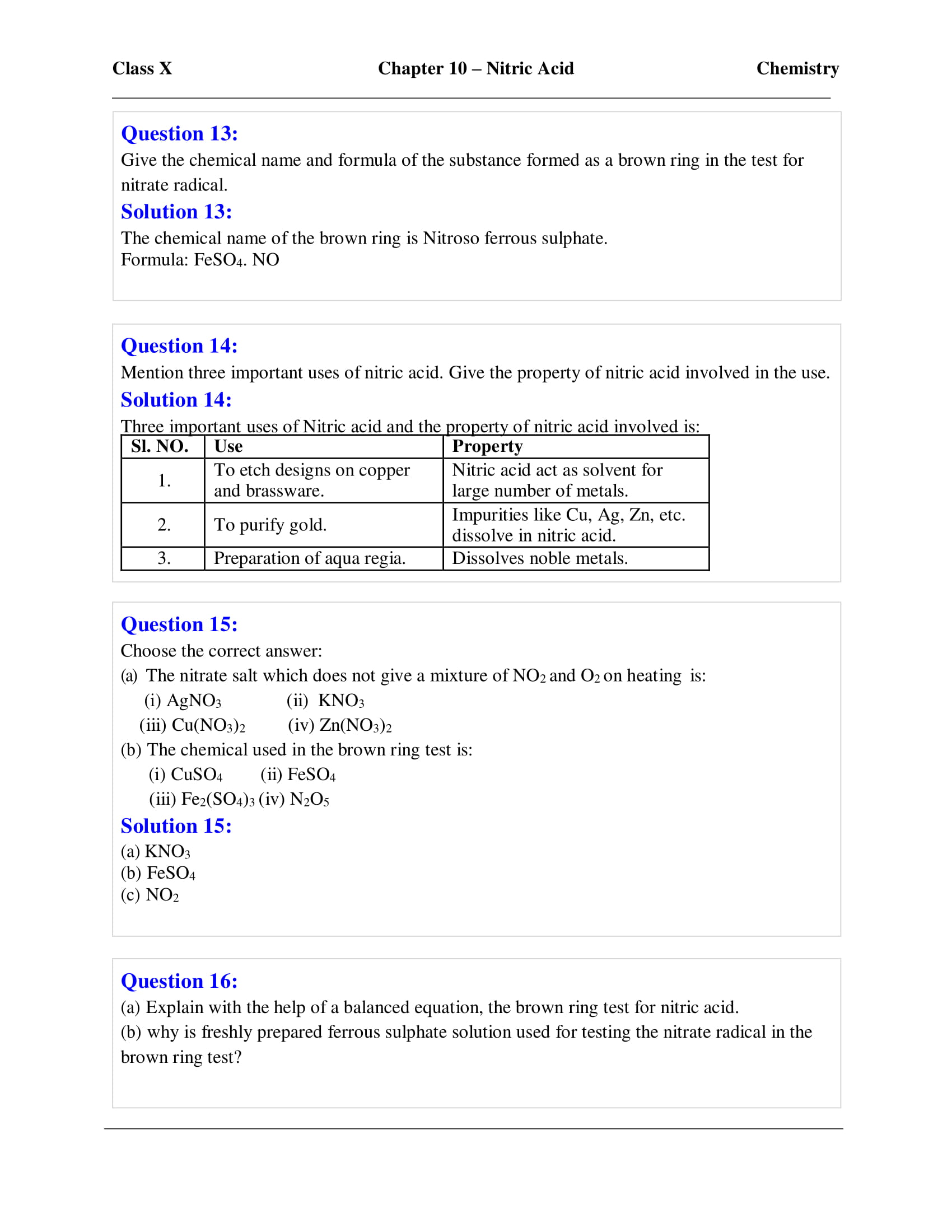 icse-selina-chemistry-solutions-class-10-chapter-10-study-of-compounds-nitric-acid-06