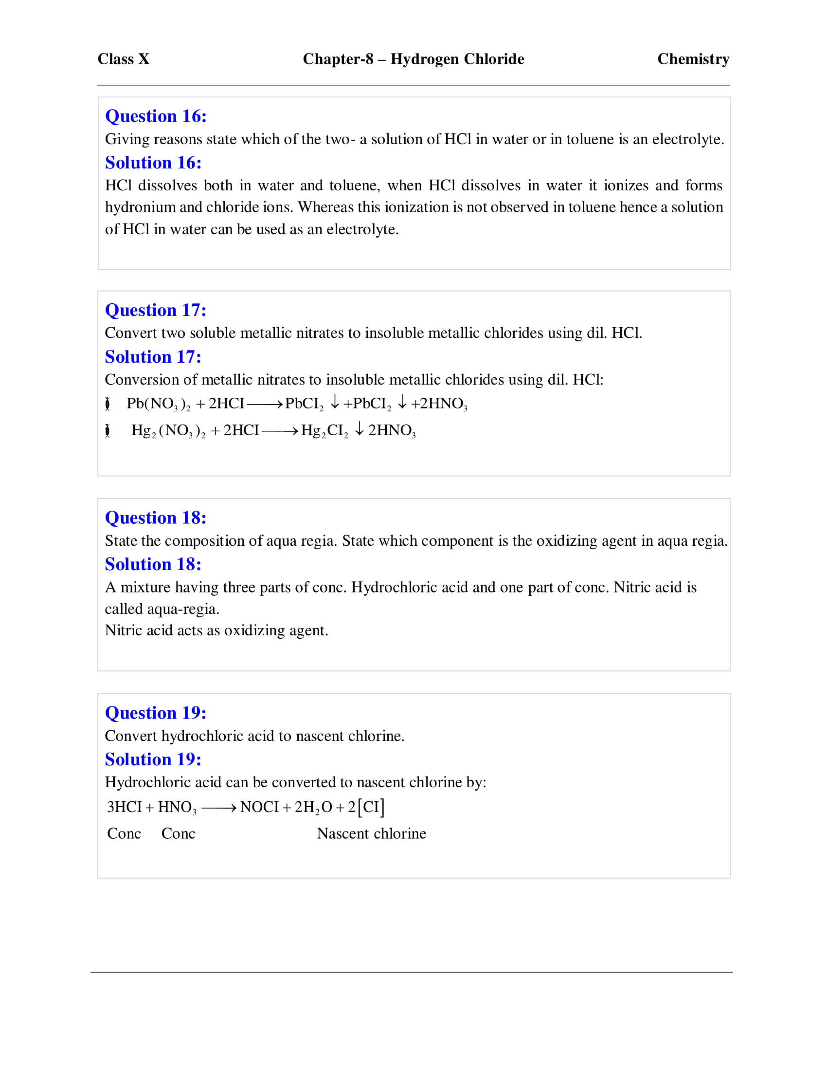 icse-selina-chemistry-solutions-class-10-chapter-8-study-of-compounds-hydrogen-chloride-08