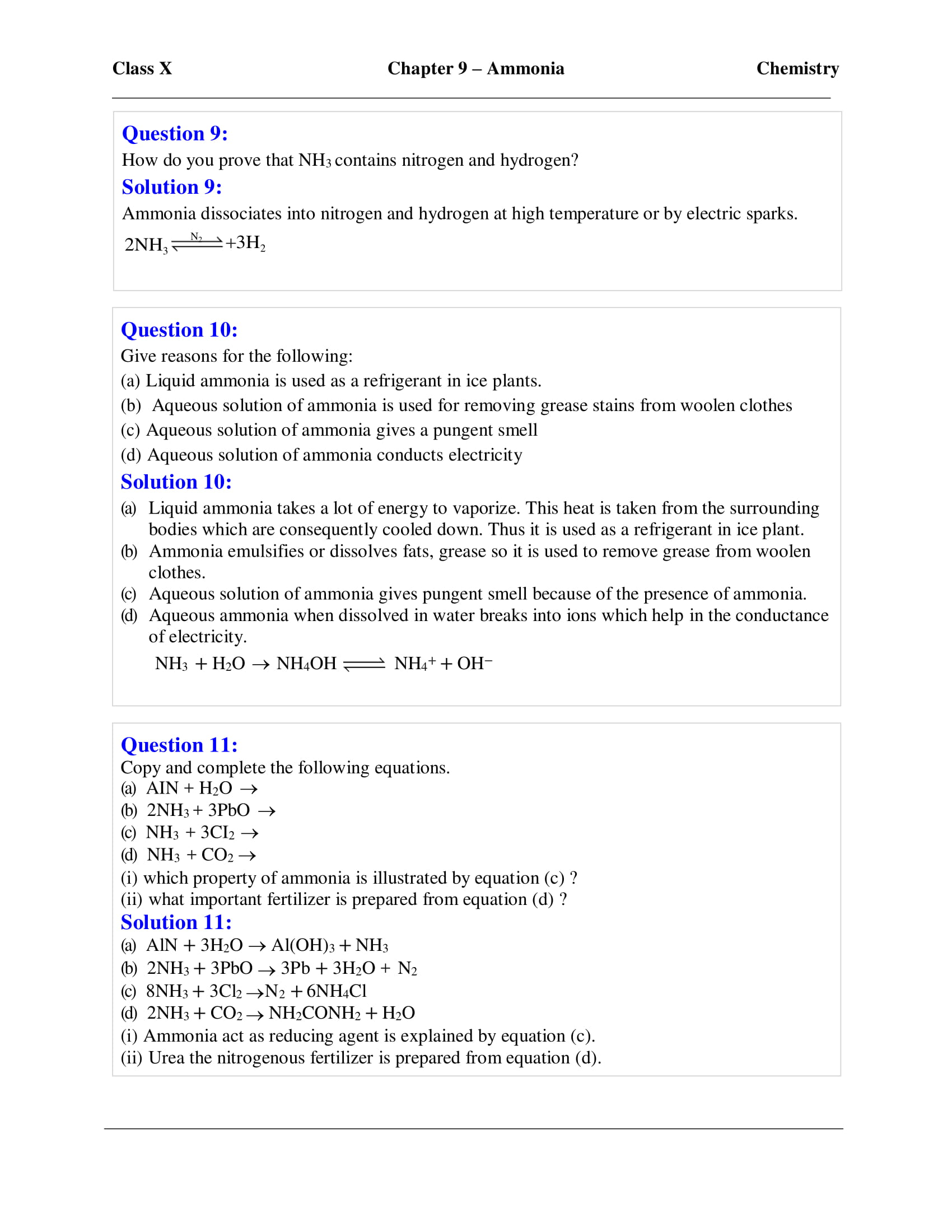 icse-selina-chemistry-solutions-class-10-chapter-9-study-of-compounds-ammonia-04