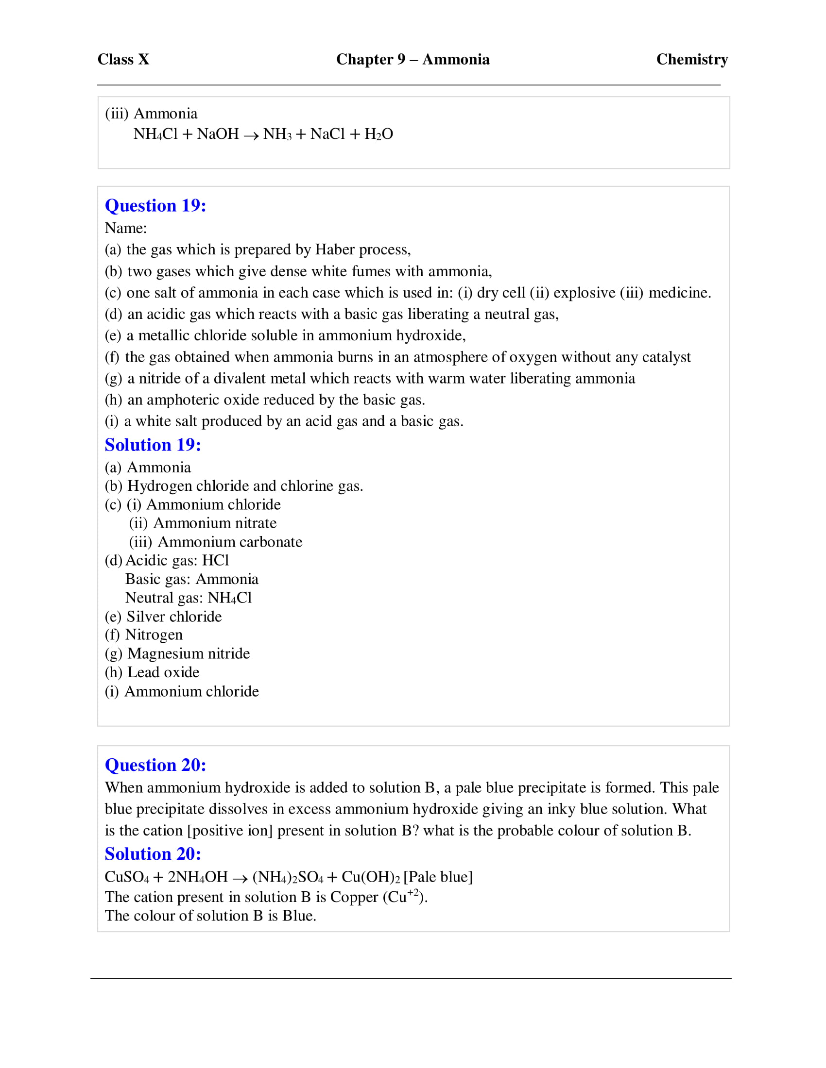 icse-selina-chemistry-solutions-class-10-chapter-9-study-of-compounds-ammonia-08