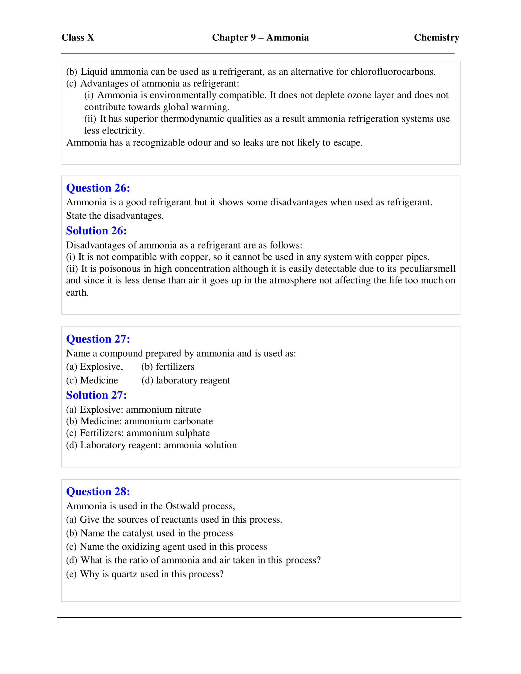 icse-selina-chemistry-solutions-class-10-chapter-9-study-of-compounds-ammonia-11