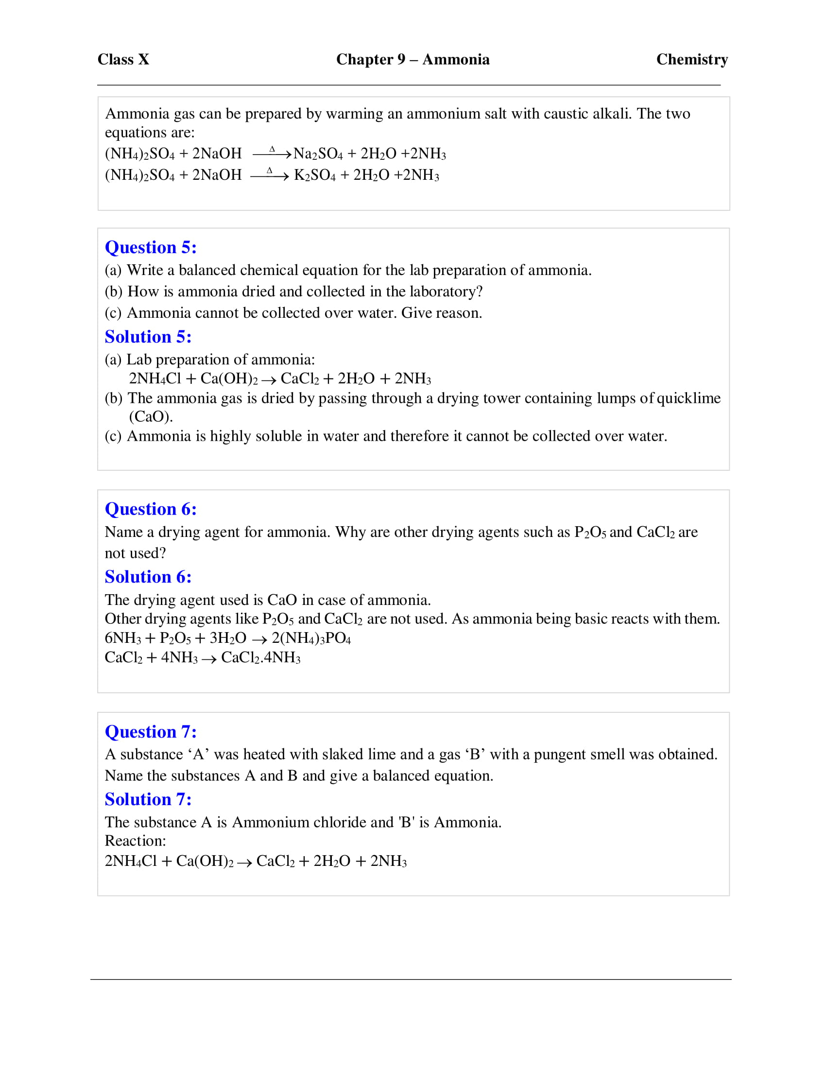 icse-selina-chemistry-solutions-class-10-chapter-9-study-of-compounds-ammonia-16