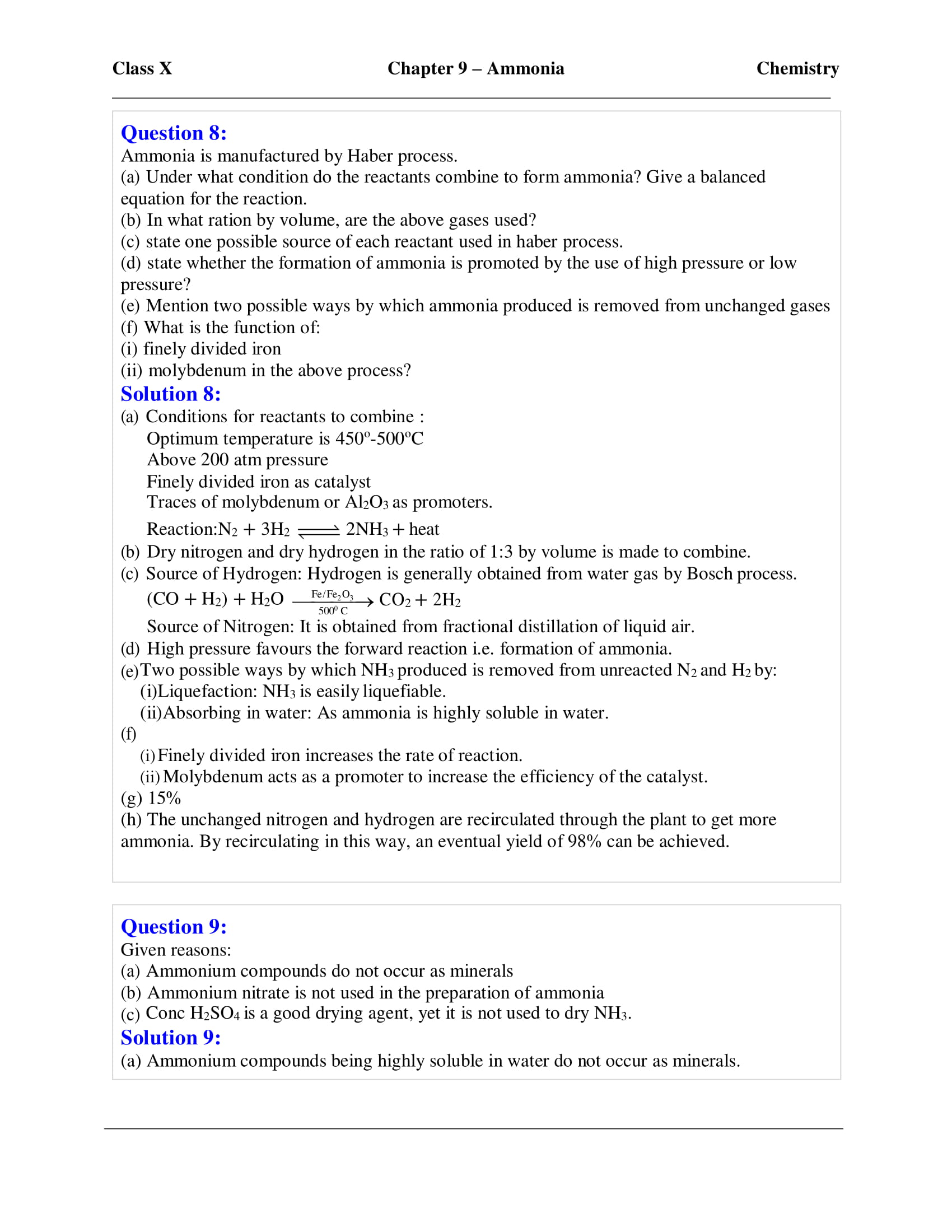 icse-selina-chemistry-solutions-class-10-chapter-9-study-of-compounds-ammonia-17