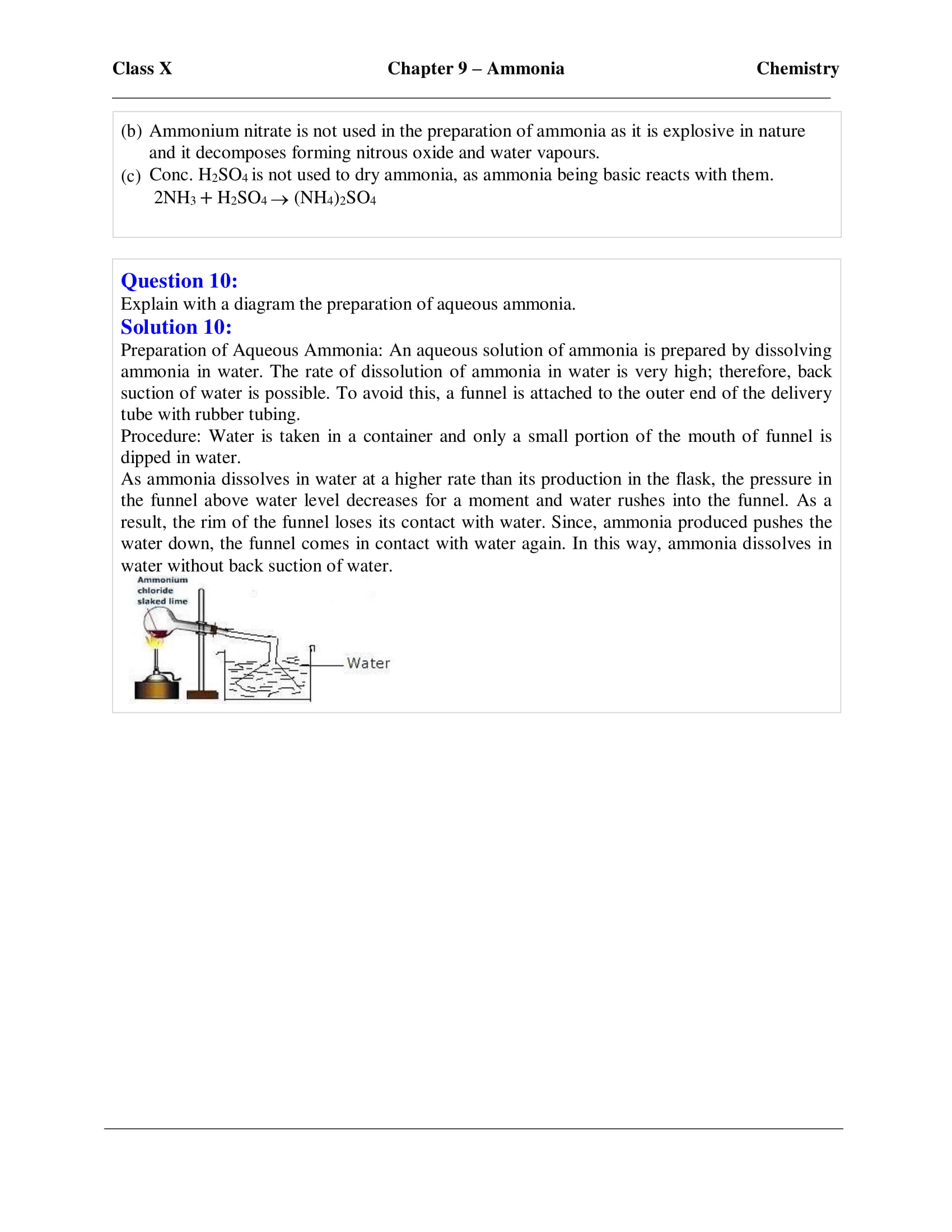 icse-selina-chemistry-solutions-class-10-chapter-9-study-of-compounds-ammonia-18