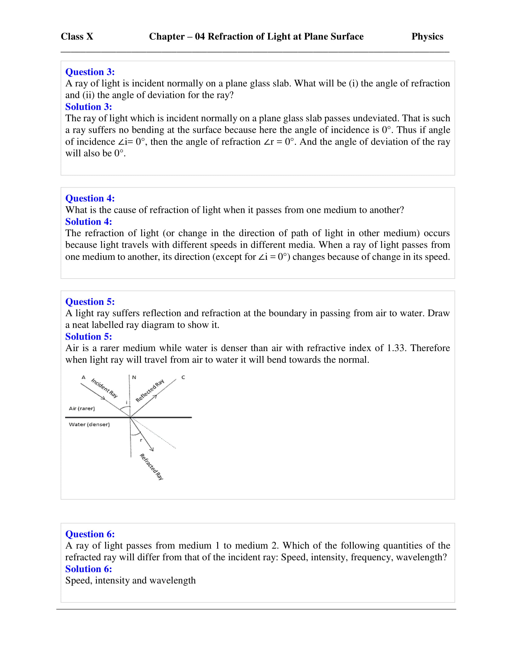 icse-selina-physics-solutions-class-10-chapter-4-refraction-of-light-at-plane-surfaces-02