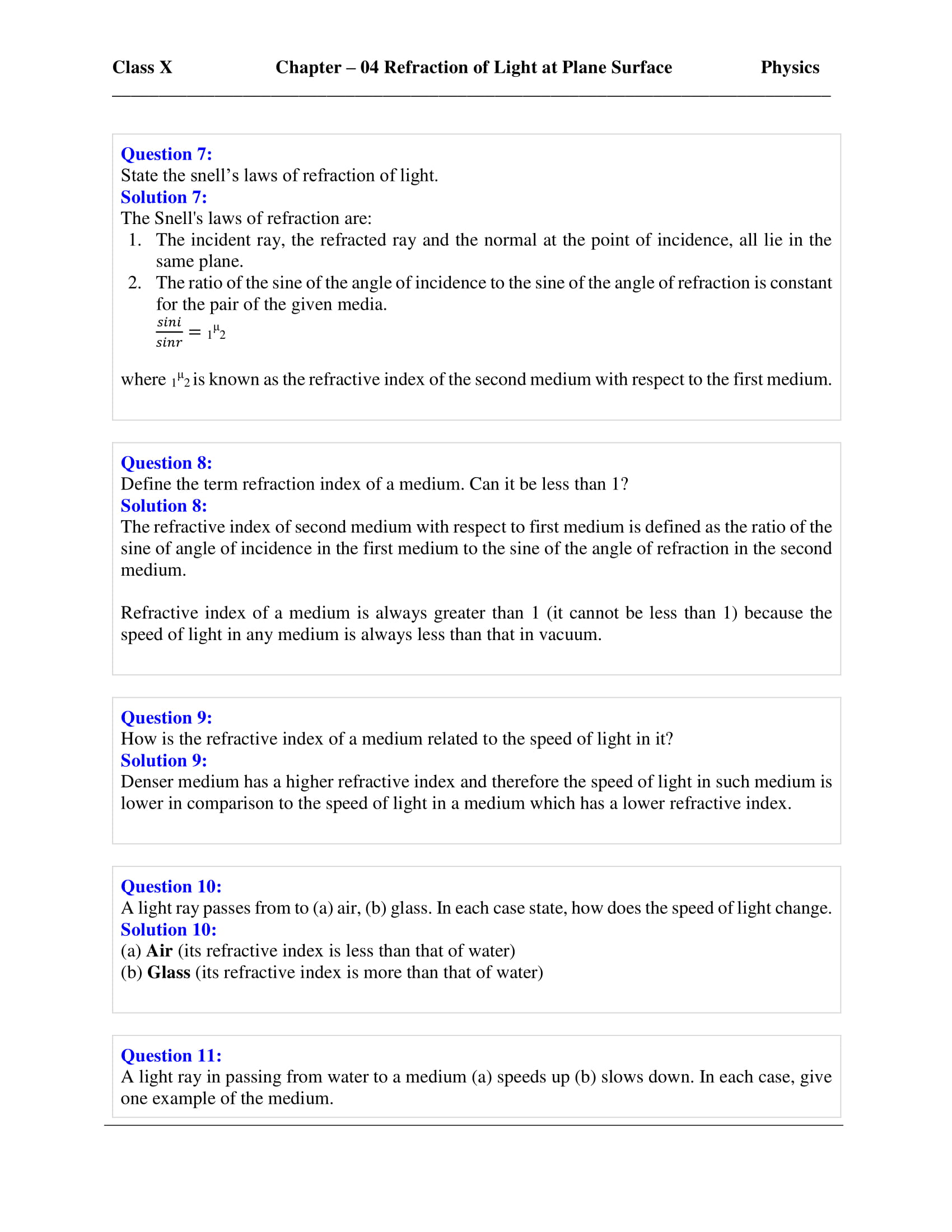 icse-selina-physics-solutions-class-10-chapter-4-refraction-of-light-at-plane-surfaces-03