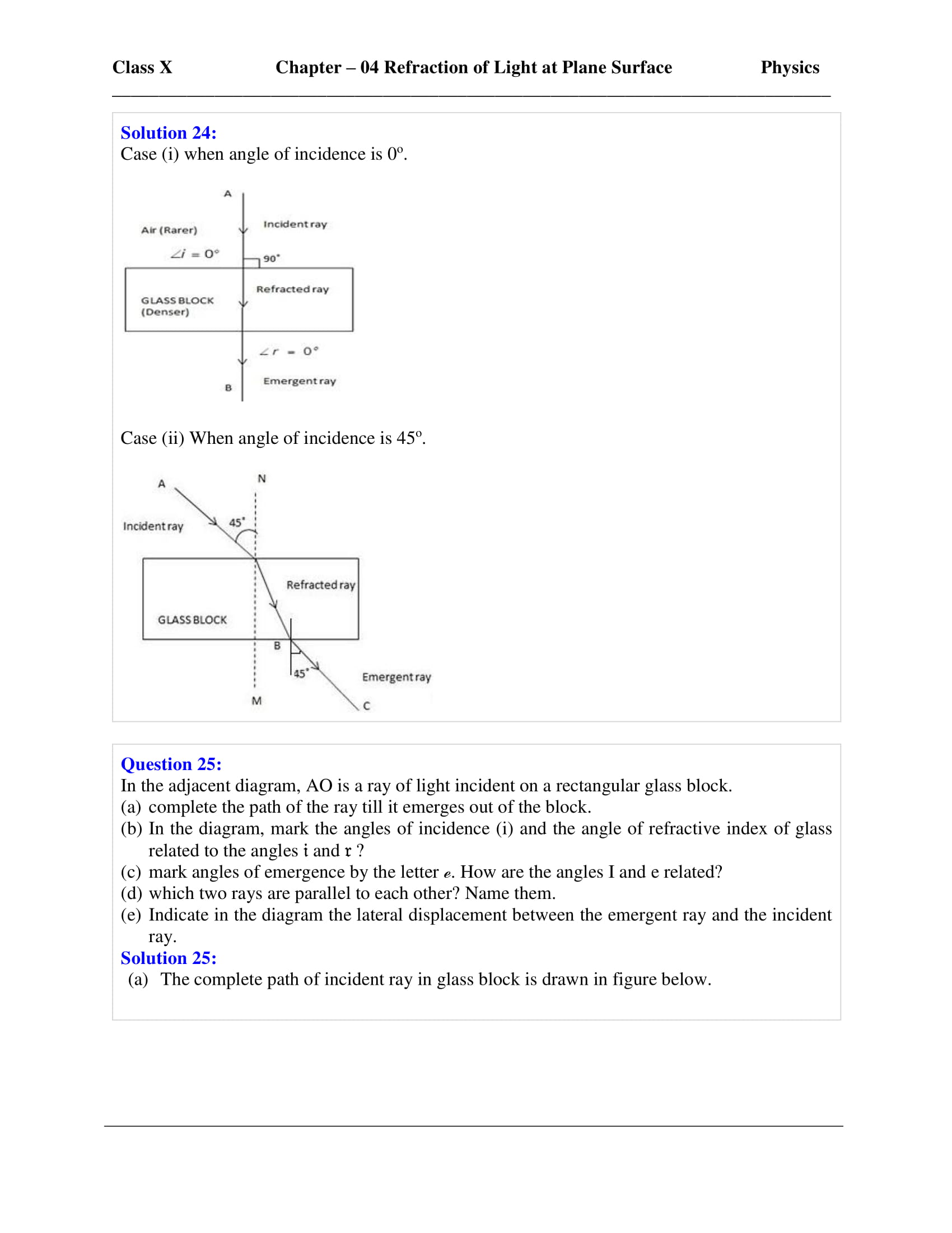 icse-selina-physics-solutions-class-10-chapter-4-refraction-of-light-at-plane-surfaces-08