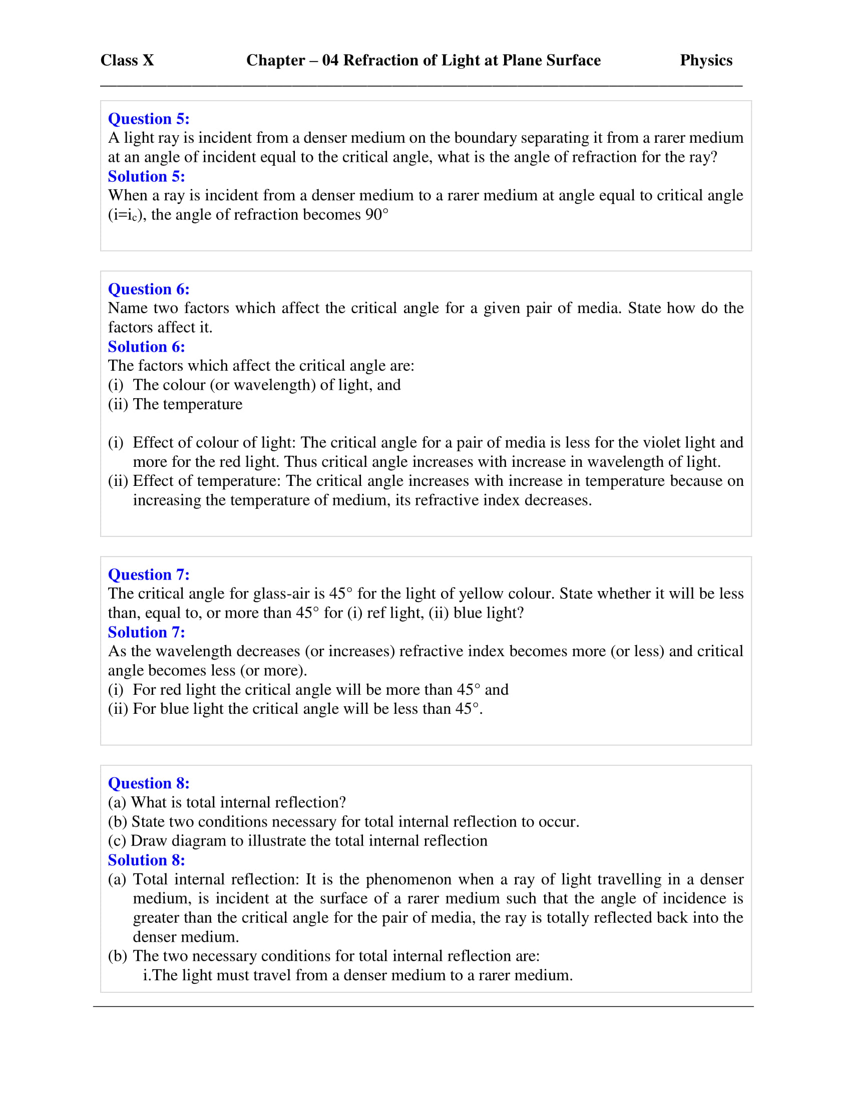 icse-selina-physics-solutions-class-10-chapter-4-refraction-of-light-at-plane-surfaces-29