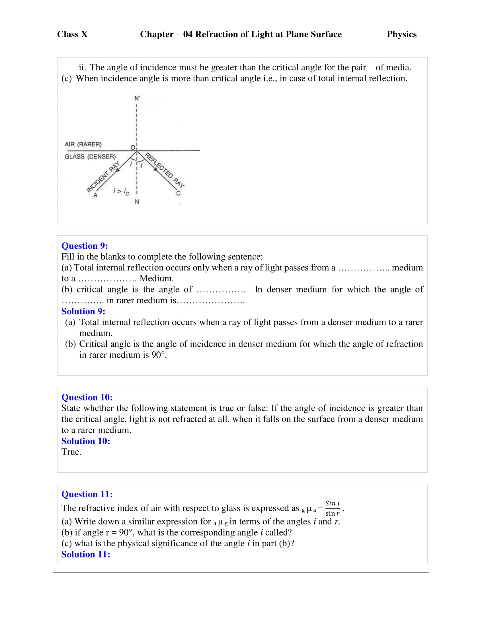 icse-selina-physics-solutions-class-10-chapter-4-refraction-of-light-at-plane-surfaces-30