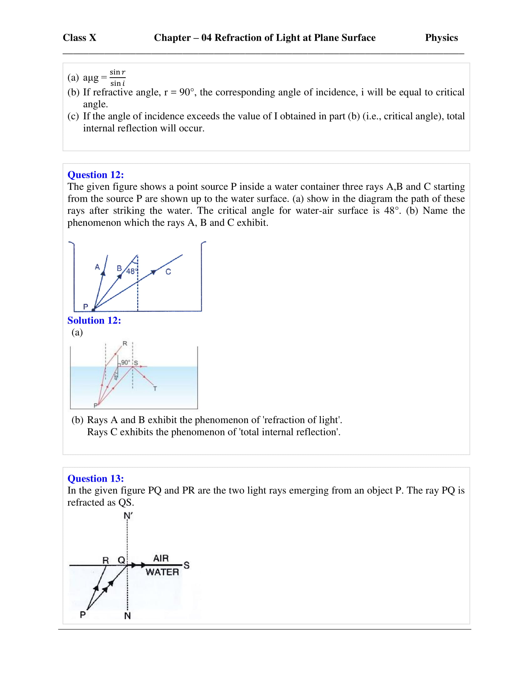 icse-selina-physics-solutions-class-10-chapter-4-refraction-of-light-at-plane-surfaces-31