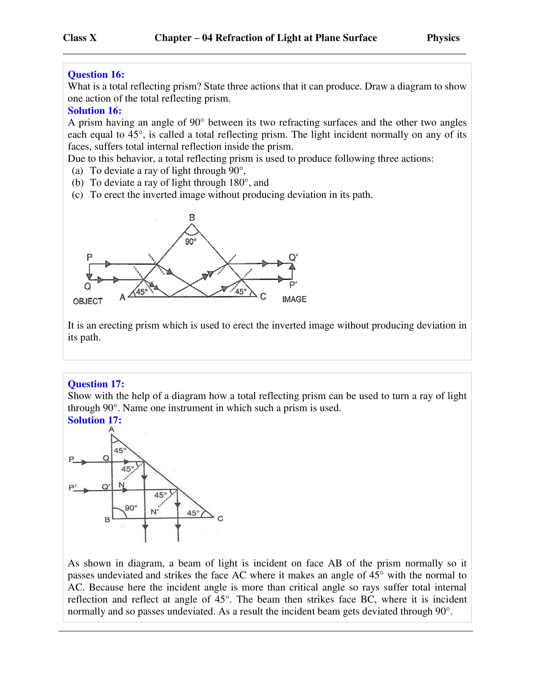 icse-selina-physics-solutions-class-10-chapter-4-refraction-of-light-at-plane-surfaces-34