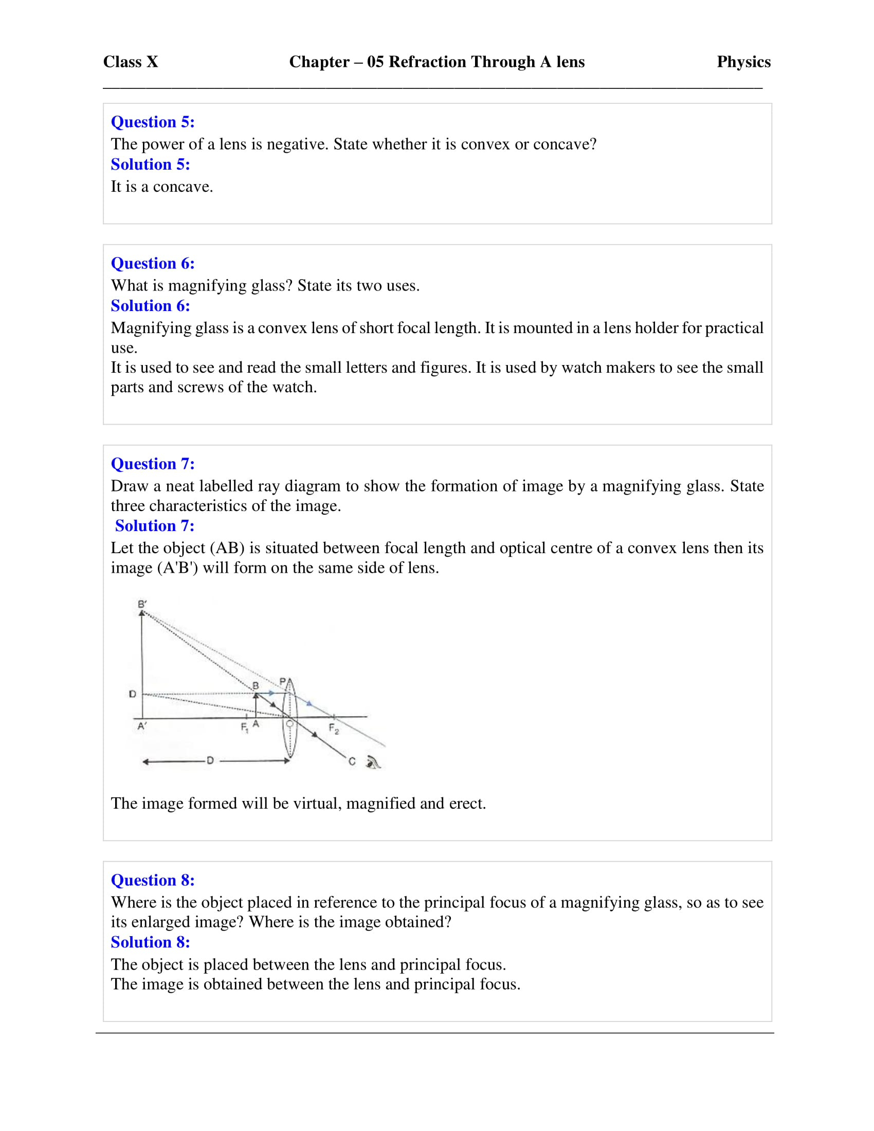 icse-selina-physics-solutions-class-10-chapter-5-refraction-through-a-lens-33