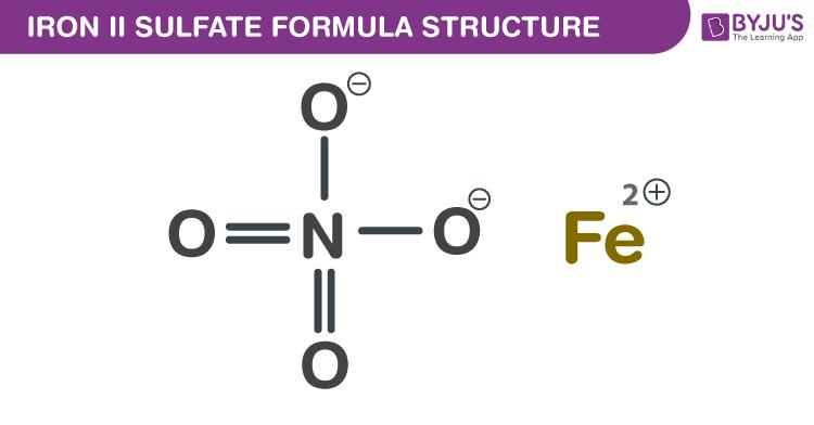 Iron(II) sulfate Formula