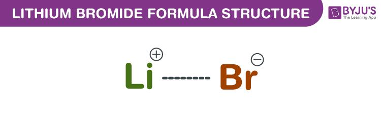 Lithium Bromide Formula