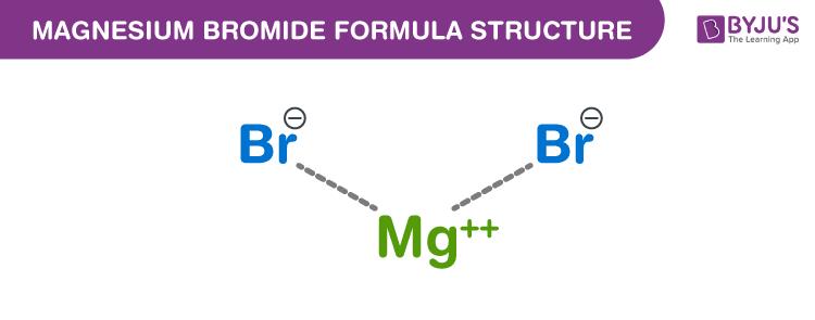 Magnesium bromide Formula