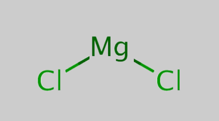 Magnesium Chloride Structural Formula