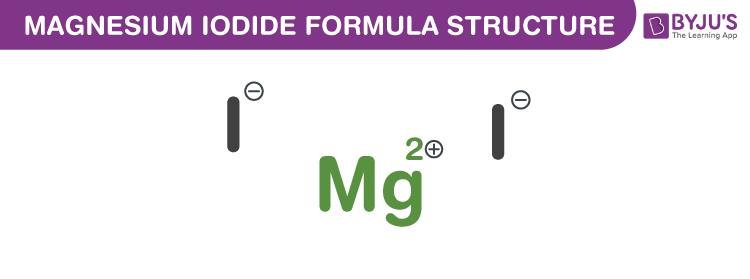 Magnesium Iodide Formula
