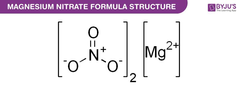 Magnesium Nitrate Formula